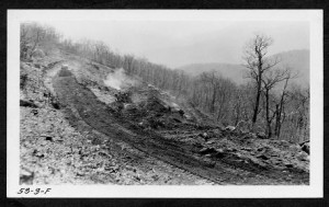 Constructing the Blue Ridge Parkway in Mt. Pisgah (1953)